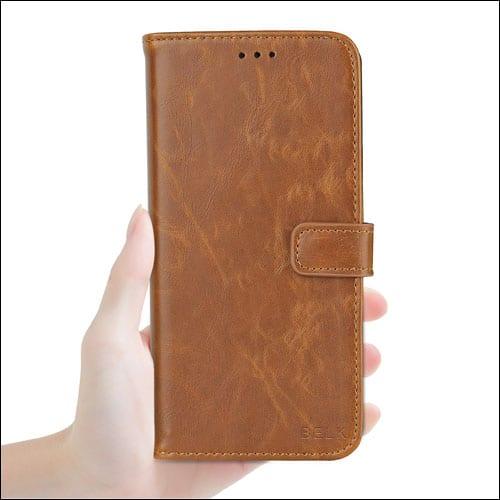 BELK Google Pixel XL Leather Case