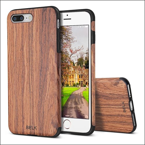 Belk iPhone 7 Plus Wooden Case