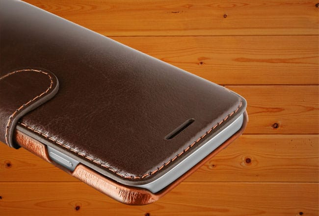 Best iPhone 7 Leather Wallet Case from VRS Design