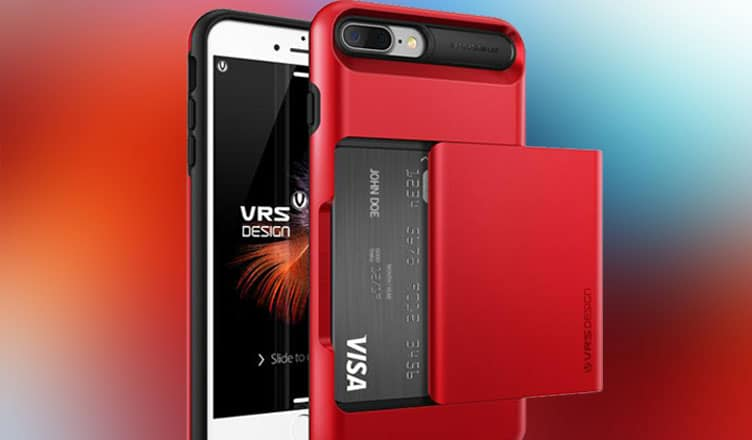 VRS Design iPhone 7 Plus Case : Equipped with Semi Automatic