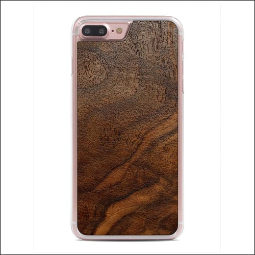 Carved iPhone 7 Plus Wooden Case