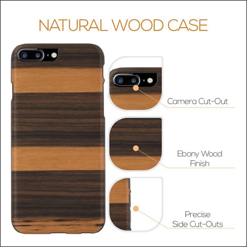GOLEMGUARD iPhone 7 Plus Wooden Case