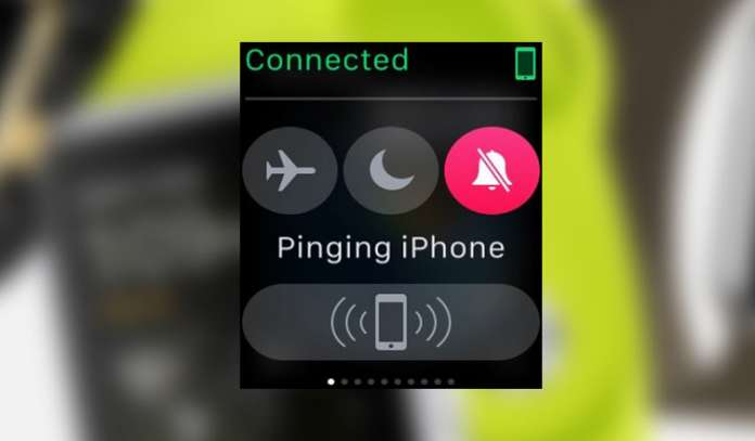 How to Find Lost iPhone with Apple Watch Pinging