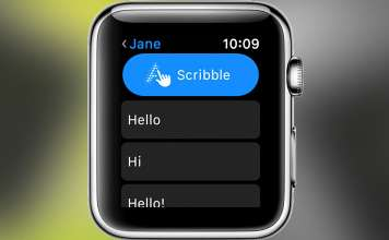How to Use Scribble on Your Apple Watch