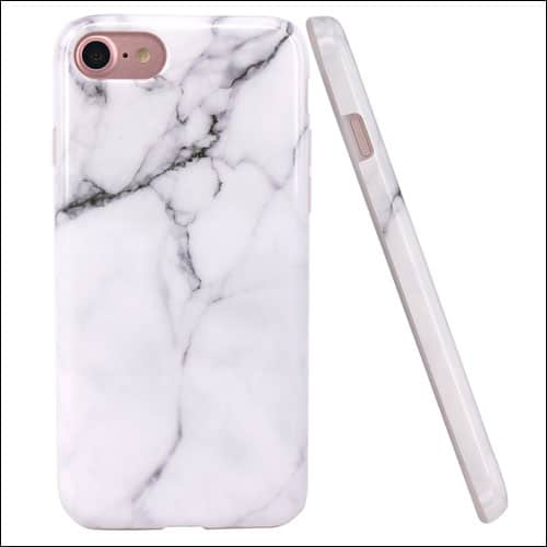 JAHOLAN iPhone 7 Marbale Case