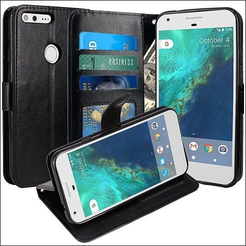 LK Google Pixel Leather Case