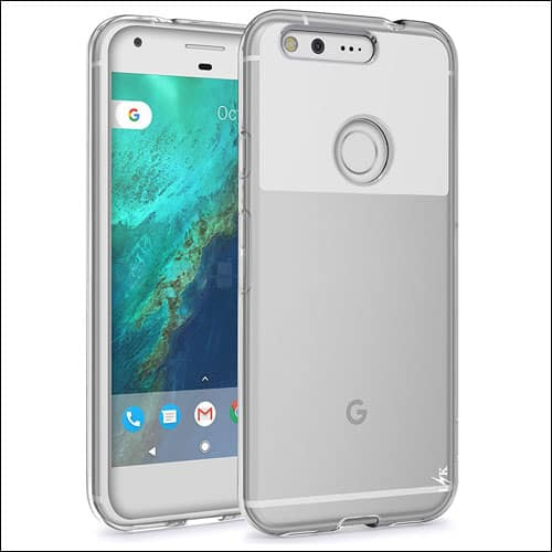LK Google Pixel Phone Clear Case