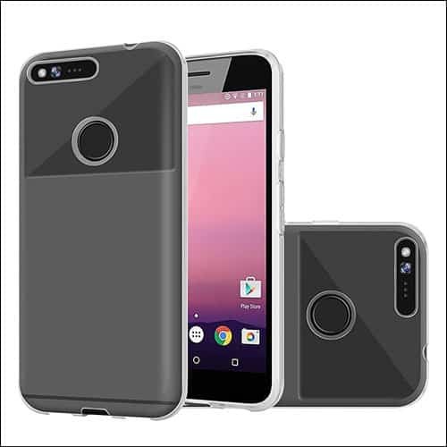 MicroP Google Pixel Phone Clear Case
