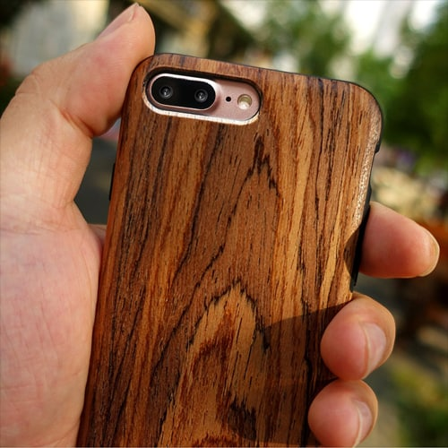 NeWisdom iPhone 7 Plus Wooden Case