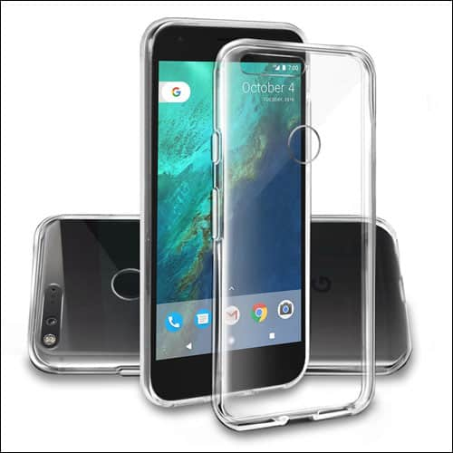 Orzly Google Pixel Clear Cases