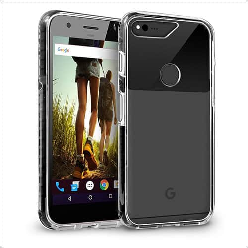 Orzly Google Pixel XL Clear Case