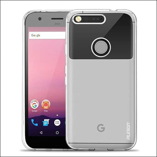 PLESON Google Pixel Phone Clear Case
