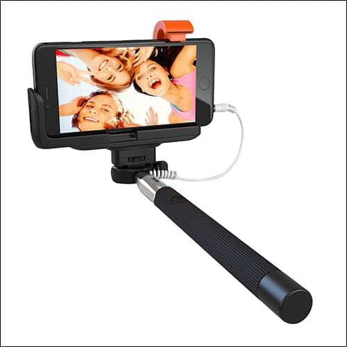SELFIE WORLD iPhone 7 and iPhone 7 Plus Selfie Stick