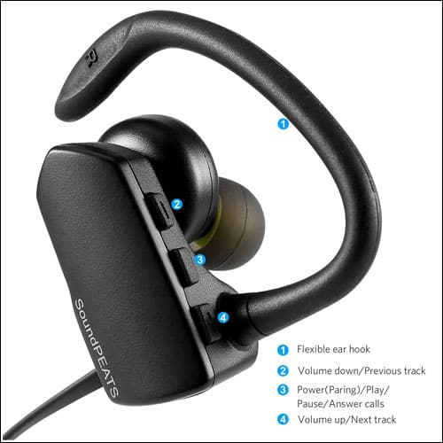 SoundPEATS iPhone 7 and iPhone 7 Plus Bluetooth Headset