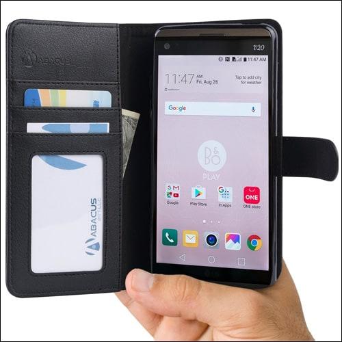 Abacus24-7 LG V20 Wallet Case