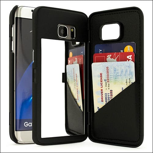 Bastex Samsung Galaxy S7 Edge Card Holder Case