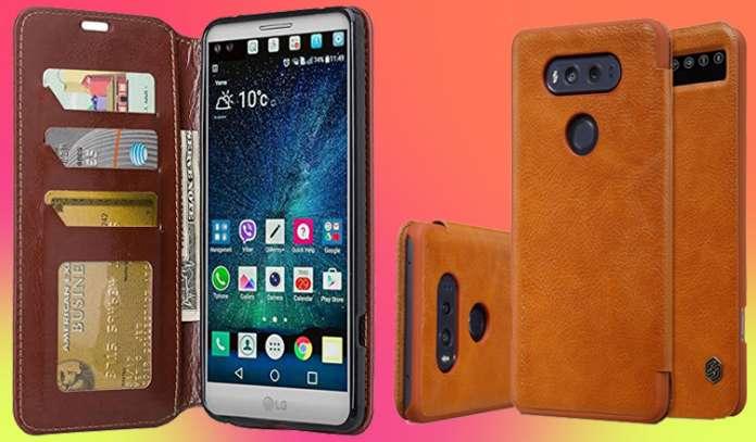 Best LG V20 Leather Wallet Cases