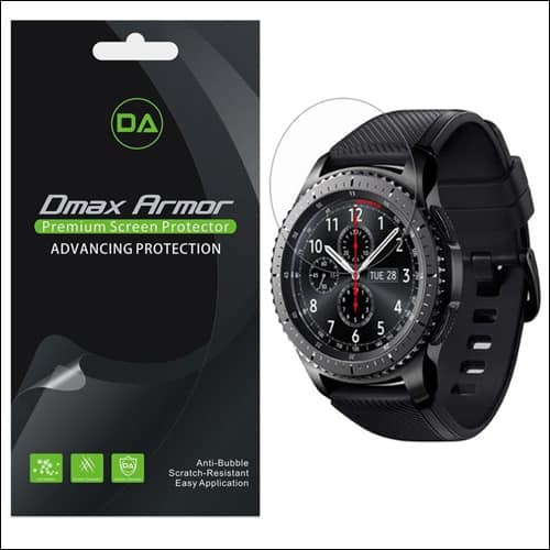 Dmax Armor Samsung Gear S3 Screen Protector