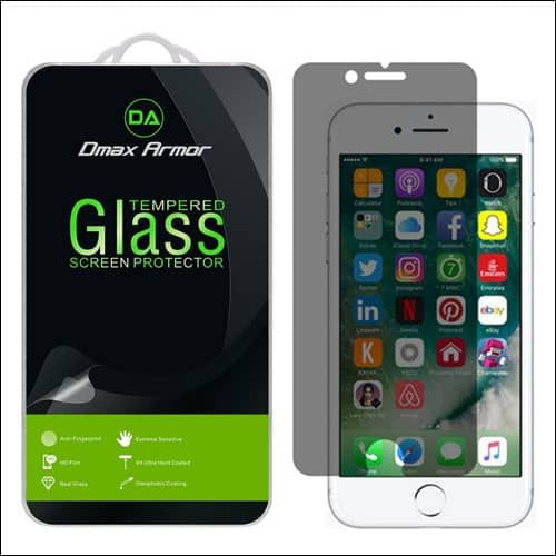 Dmax Armor iPhone 7 Plus Privacy Screen Protector