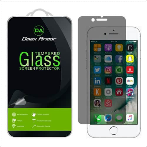 Dmax Armor iPhone 7 Privarcy Screen Protector