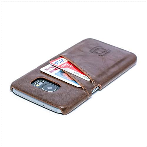 Dockem Samsung Galaxy S7 Edge Leather Wallet Case