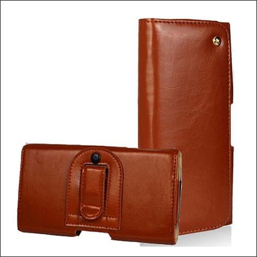 Dretal One Plus 3T Leather Wallet Case