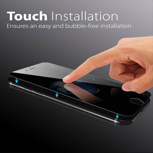 FOSMON iPhone 7 Plus Privacy Screen Protector
