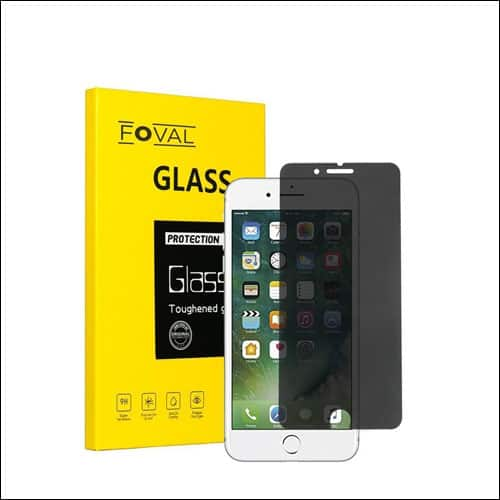 Foval iPhone 7 Privarcy Screen Protector