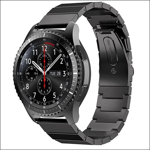 GBSELL Samsung Gear S3 Stainless Steel Bands