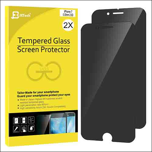 JETech iPhone 7 Privacy Screen Protector