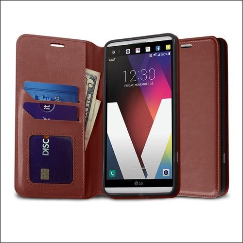 Kaesar LG V20 Card Holder Case