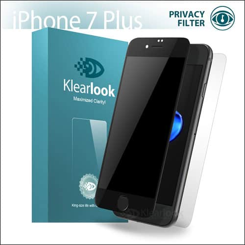Klearlook iPhone 7 Plus Privacy Screen Protector