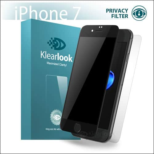Klearlook iPhone 7 Privarcy Screen Protector