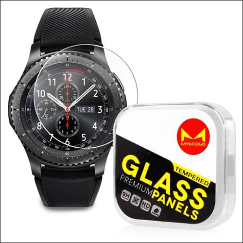 MYECOGO Samsung Gear S3 Screen Protector