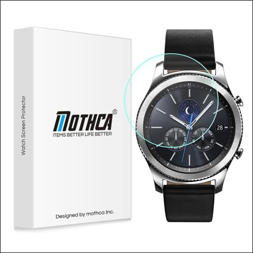 Mothca Samsung Gear S3 Screen Protector