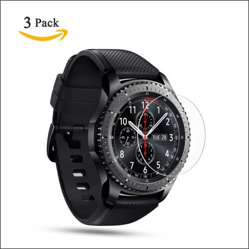 OMOTON Samsung Gear S3 Screen Protector
