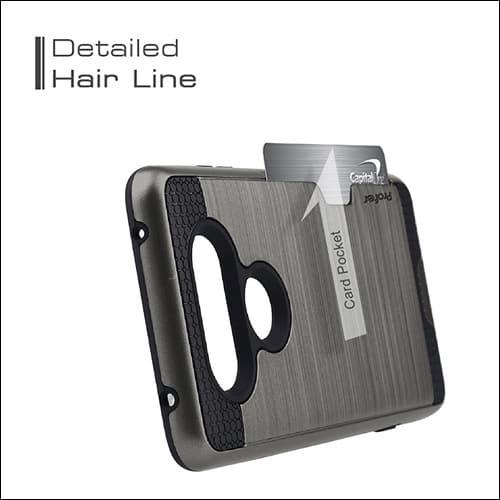Profer LG V20 Card Holder Case