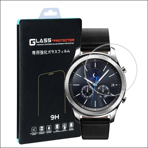 Qosea Samsung Gear S3 Screen Protector