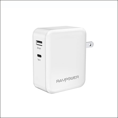 RAVPower USB C Type Wall Charger or Adapter