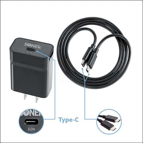 SONEic USB C Type Wall Charger or Adapter