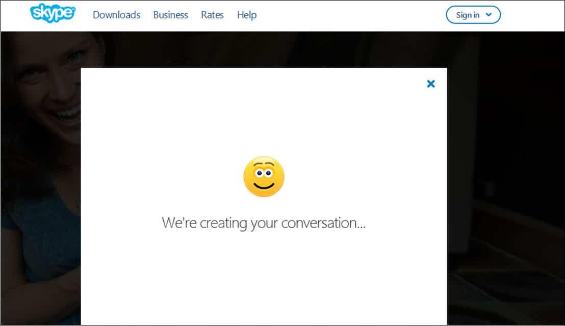 Skype is creating conversation