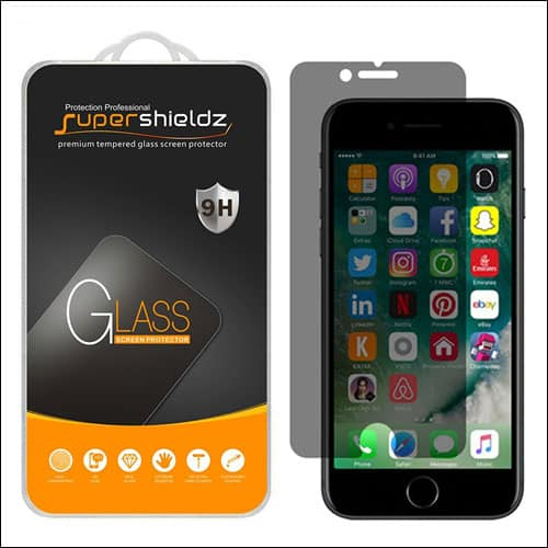 Supershieldz iPhone 7 Privarcy Screen Protector