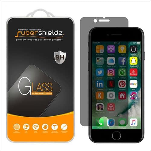 Supershieldz iPhone 7 Privarcy Screen Protector