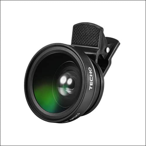 TECHO iPhone Camera Lens