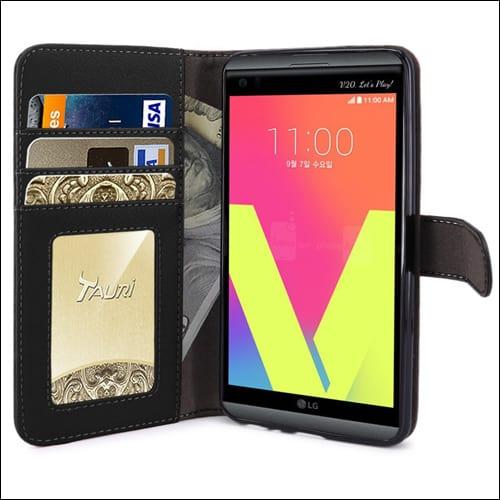 Tauri LG V20 Wallet Case