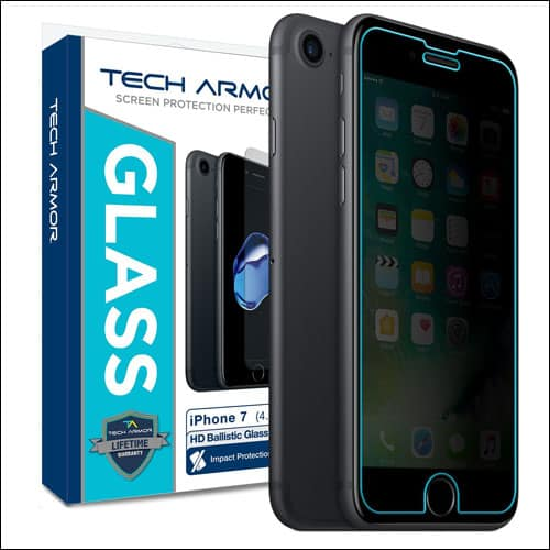 Tech Armor iPhone 7 Privarcy Screen Protector