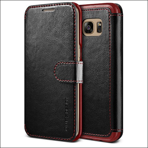 Verus  Samsung Galaxy S7 Edge Leather Wallet Case