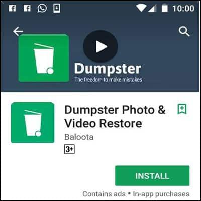 Download Dumpster