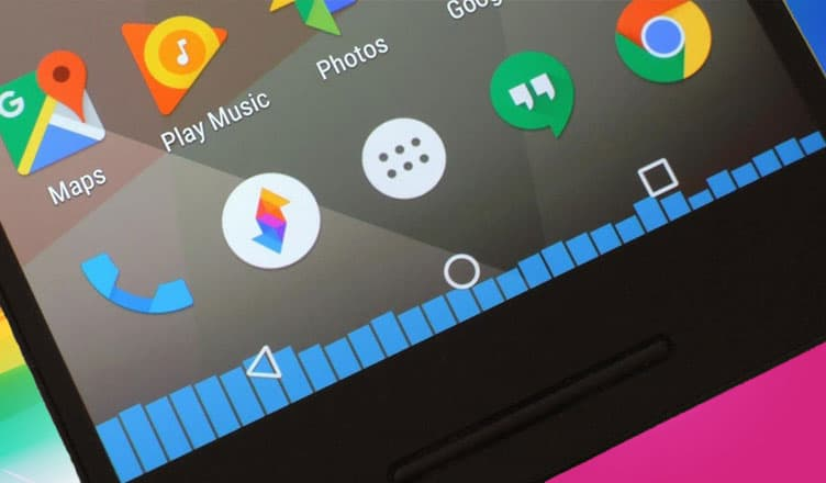 How to Add Music Visualizer to Navigation Bar on Android Smartphone