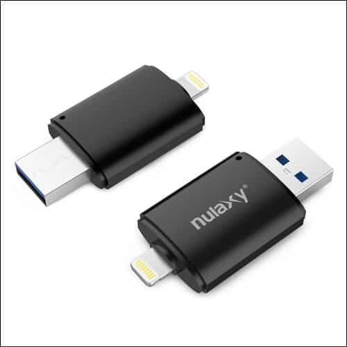Nulaxy Flash Drives for iPhone and iPad